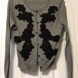 CAbi Appliqué Sweater